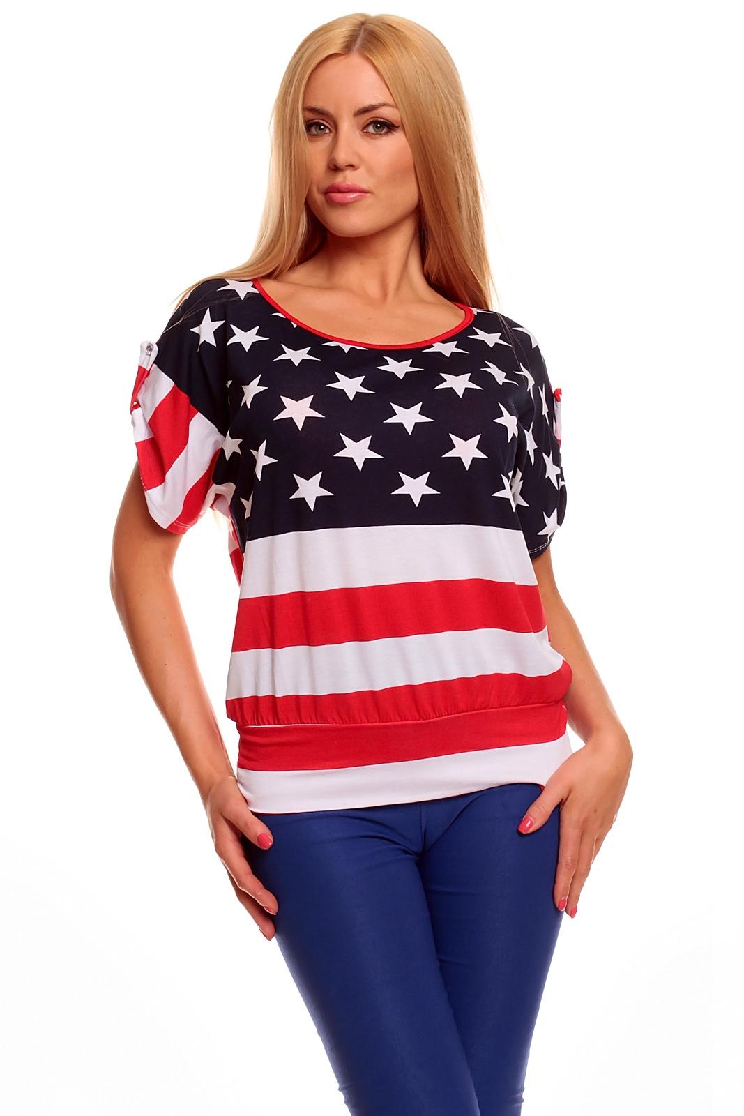 0b9927a7b10f Pekné tričko Amerika