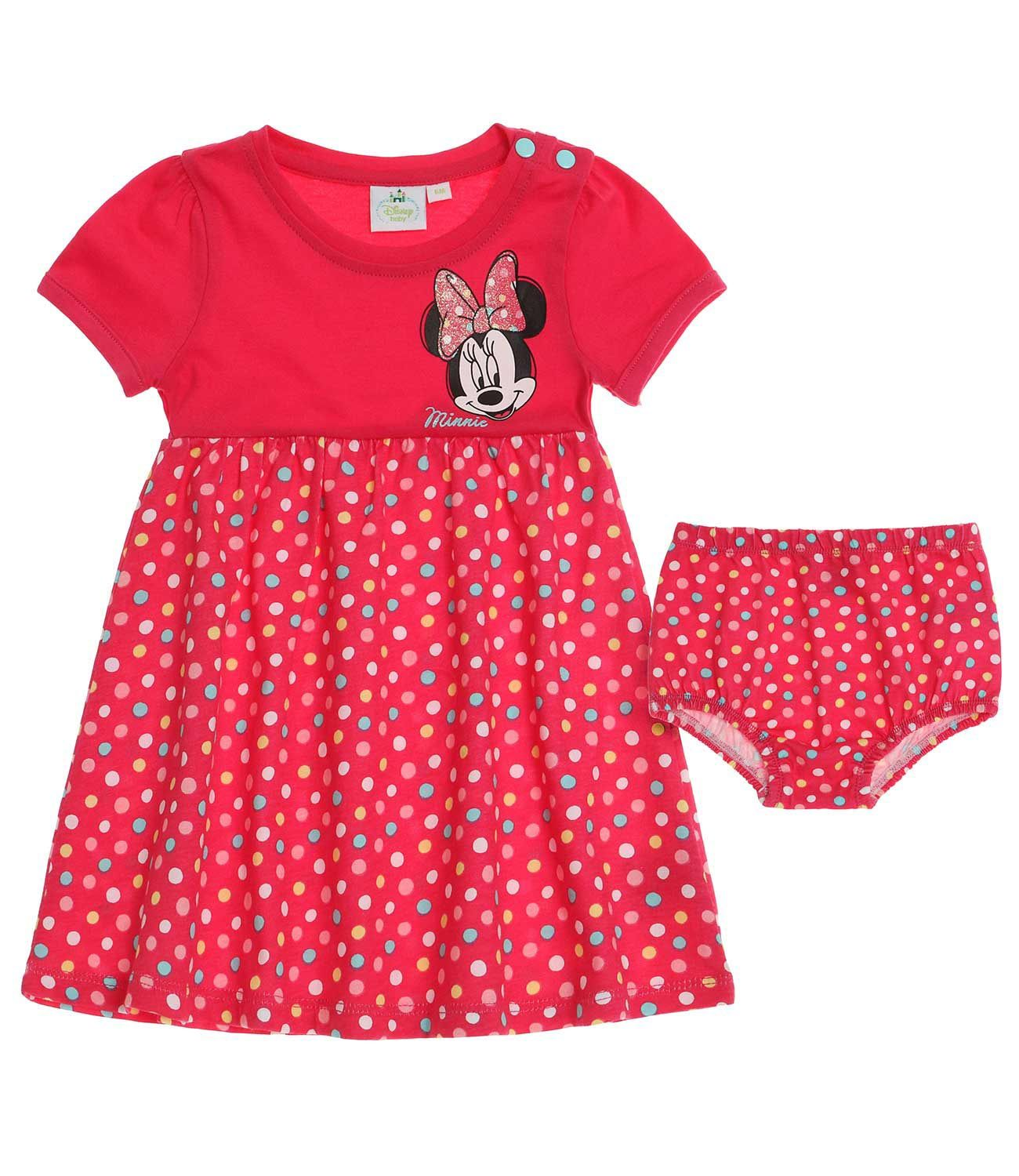 Baby GIRL šaty Minnie Mouse